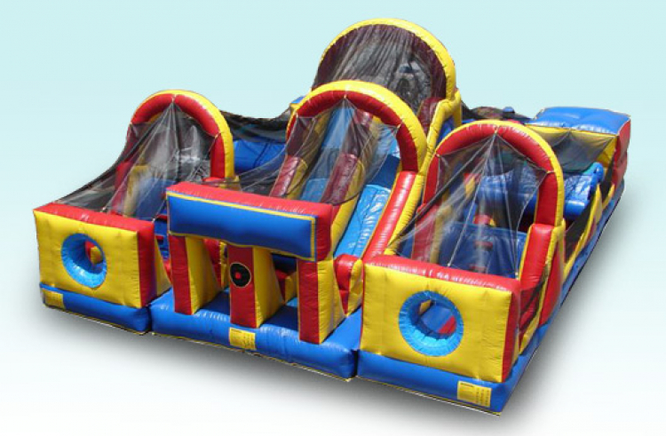 3 and 1 Obstacle Course