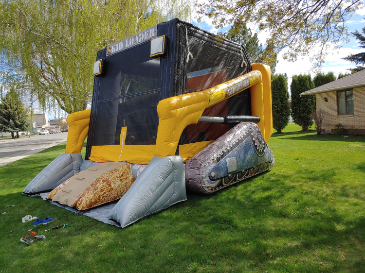 Skid Loader Bounce House