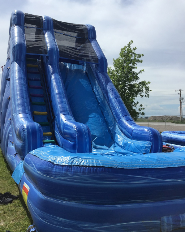 22' Single lane Water Slide