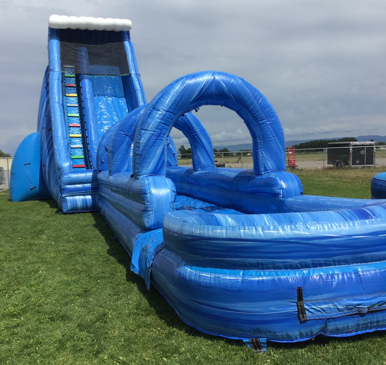 27ft Single Lane Water Slide